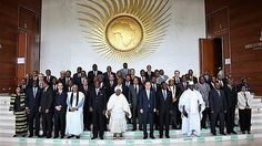 Heads of State at the 26th Summit of the African Union (AU) in Addis Ababa 30th January 2016.