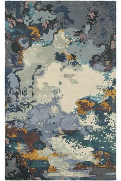 Cosmos Area Rug - Hand-tufted Rugs - Wool Blend Rugs - Abstract Rugs - Modern…