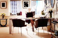 Miranda Priestly`s Office - Design inspiration for my next apt