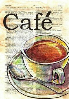 Dictionary Page - Cafe