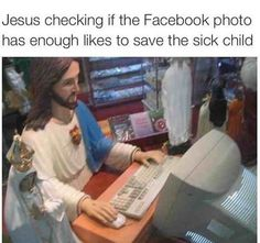 FunSubstance - Funny pics, memes and trending stories Humor Religioso, Me Too Thanks, Religious Humor, Sick Kids, Facebook Photos, Jesus Cristo, Just In Case, I Laughed, Laughter