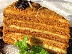 Торт Медовая ириска