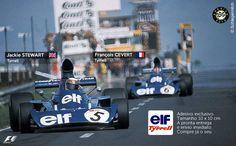 Adesivo Elf Team Tyrrell F1 Formula 1 Sticker
