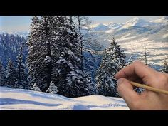 (134) How to paint snow in mountains | Timelapse | Episode 191 - YouTube Michael James Smith, Online Art School, Painting Lessons, Online Painting, Tree Oil, Art Tutorials, Snow, Fine Art, Mountains