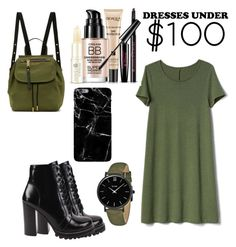 """""""Dress Under $100"""" by ashnamundhra on Polyvore featuring Gap, Jeffrey Campbell, Marc Jacobs, CLUSE and Harper & Blake"""