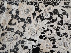 late 19th or early 20th c Venise-type needlelace