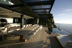 Residencia de lujo Mwanzoleo en Ciudad del Cabo por SAOTA y Antoni Asociados | HomeDSGN