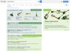 Pierwsza strona wyników wyszukiwania Google