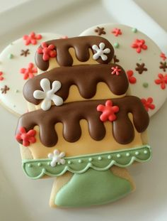 Cake Stand Cookies