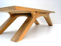 Sustainable Oak Coffee Table designed and made by Ezra and Matthew Harvey for Makers Bespoke Furniture