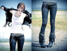 Highway to hell. (by Nora Lovely) http://lookbook.nu/look/223737-highway-to-hell