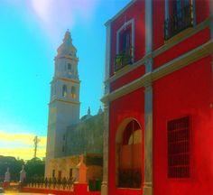 Torre de Catedral #Campeche #CentroHistórico  Patrimonio Cultural de la Humanidad por la UNESCO