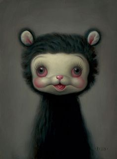 From the gallery of another amazing artist, a surreal/surrealist painter to be exact, who goes by the name of Mark Ryden.