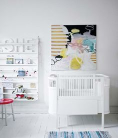 Kids Bedroom Design At Modern Style Scandinavian Interior With Art Accents Picture 01: Kids Bedroom Design At Modern Style Scandinavian Interior With Art Accents Picture 01