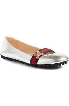 9687a1f9c8b8 Gucci  Bayadere  Ballerina Flat (Women) available at  Nordstrom Pret