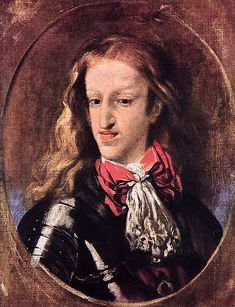 Unflattering portrait or morbidly homely monarch? Luca Giordano, King Charles II of Spain, Roi Charles, King Charles, Die Habsburger, Medical History, Uk History, Tudor History, European History, Ancient History, Family History