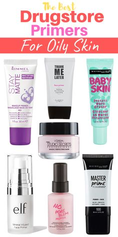 Do you have oily skin? Searching for best drugstore primers for setting powder or spray then here is the best 7 drugstore primers for you to solve your problems. Primer For Oily Skin, Face Primer, Best Drugstore Primer, Maybelline Master Prime, Rimmel London, Makeup Primer, Primers, Baby Skin, Setting Powder
