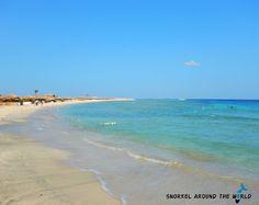 The Abu Dabbab Bay, Egypt, Marsa Alam  Photo was taken by Anett Szaszi with a Nikon Coolpix Aw120 camera.    Read the camera review here:    http://snorkelaroundtheworld.com/2015/10/waterproof-compact/