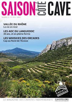 Le magazine Saison Côté Cave été 2015 est disponible chez le caviste