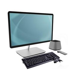 Vizio CA27-A0 All-in-One PC Core i3-3110M Dual-Core 2.4GHz 4GB 1TB 27 Full HD W7HP w-Webcam Remote & WiFi-N