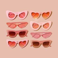 Uploaded by Jaehyun's wife. Find images and videos about pink, vintage and aesthetic on We Heart It - the app to get lost in what you love. Heart Shaped Sunglasses, Girl With Sunglasses, Pink Sunglasses, Sunglasses Accessories, Vintage Sunglasses, Sunnies, Stylish Sunglasses, Sunglasses Women, Cat Eye Sunglasses