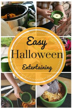 Easy Halloween Entertaining with Fiesta Dinnerware.