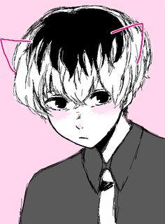 did u guys know that i love haise Anime Neko, Anime Manga, All Anime, Anime Guys, Anime Art, Tokyo Ghoul, Kaneki, Centipedes, Tsundere
