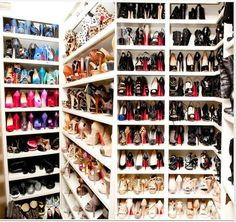 Oh my Gerd...SHOES! (shoes,nice shoes,high heels,closet,girly,cute,pretty)