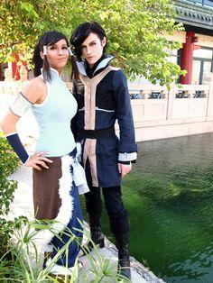 Avatar: Legend of Korra Cosplay by *Aicosu (Korra and Tahno)