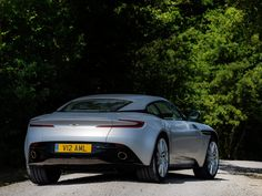 On the narrow Tuscan roads, it's the width of the new Aston Martin that is especially noticeable, though planting your foot on the accelerator, the brawny makes a convincing plea… Aston Martin Db11, New Sports Cars, Driving Test, Hunting, Gq, Boats, Design, Canvas, Check
