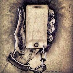 Uma forma de escravidão?  #reflexao #comportamento #atitude #educacao #desenvolvimento #psicologia #neurociencia