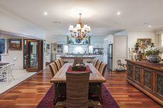 Dining & kitchen @ 28 Silky Oak Drive, Brookwater