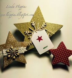 Showing off some of the Stars in the Many Merry Stars kit