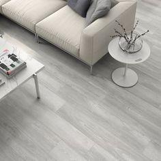 Grey Laminate, Oak Laminate Flooring, Vinyl Plank Flooring, Living Room Flooring, Kitchen Flooring, Floor Design, House Design, Grey Bathroom Floor, Grey Kitchen Designs