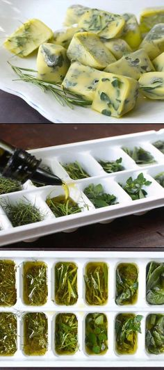 Easy Way to Preserve Fresh Herbs.