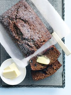 date, apple and tea loaf from donna hay