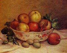 Still Life with Pomegranates - Pierre-Auguste Renoir