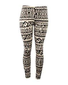 Usually leggings don't work on my body but now these are cute patterns and are now part spandex so it shapes your body more. Yay!