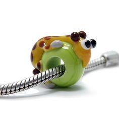 Beads Modul - Glas-Bead - Giraffe - 645