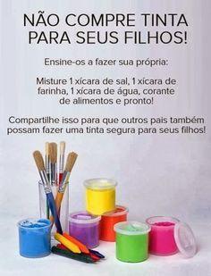 TO DIY OR NOT TO DIY: TINTAS CASEIRAS PARA CRIANÇAS