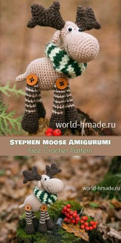 Mesmerizing Crochet an Amigurumi Rabbit Ideas. Lovely Crochet an Amigurumi Rabbit Ideas. Crochet Amigurumi Free Patterns, Crochet Animal Patterns, Crochet Animals, Crochet Dolls, Holiday Crochet Patterns, Crochet Gifts, Cute Crochet, Crochet For Kids, Easy Crochet