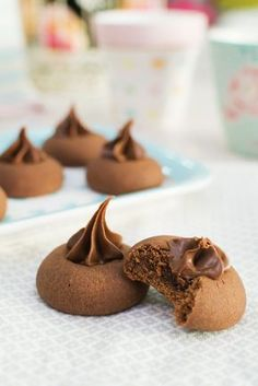 Nutella Deserts, Nutella Oreos, Nutella Cookies, Yummy Cookies, Bakery Recipes, Sweets Recipes, Cookie Recipes, Croissants, Delicious Desserts