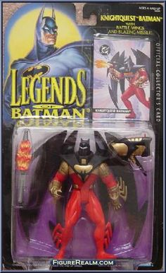 Kenner Legends of Batman Series 1 Batman (Knightquest) Figure 1994
