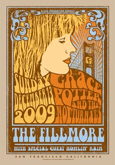 Grace Potter and the Nocturnals. Wish I had this poster.