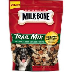 MilkBone Trail Mix With Real Beef  Sweet Potato Dog Treats 20Ounce >>> Read more  at the image link.