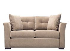 This Lennon microfiber loveseat is perfect for today's home decorators thanks to its streamlined look and elegant details. Its neutral, grain-colored upholstery is so easy to decorate with, and the biscuit tufting and welting offer a neatly tailored look that both modern and classic decorators will love.
