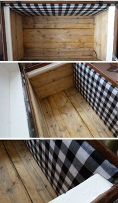 ★ HOW TO Revamp Vintage Wooden Chest | Fabric & Wood Panel Lining Craft Tutorial ★ | HubPages