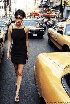 Posh Spice in New York Circa 1998