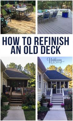 Looking for ideas to DIY your deck on a budget? This two tone simple deck makeover is an easy way to redo your backyard and provide restoration to your deck. Use RockSolid 20X Deck Resurfacer for heavily worn decks and patios. Painted decks are a great makeover for your small or large outdoor space. RockSolid Deck comes in a variety of colors, click to see a before and after of Unskinny Boppy's deck.