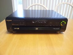 Panasonic DVD/Video 5 Disc CD Player DVD-CV50 DVD Player